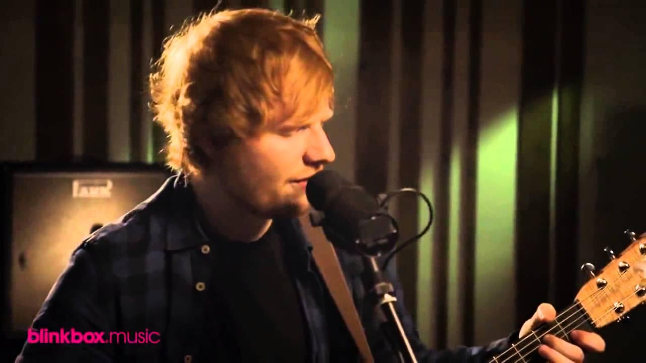 Ed Sheeran - Afire love acoustic live
