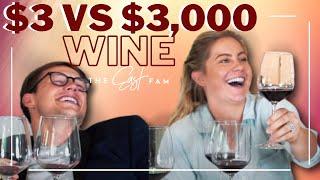 $3000 wine vs $3 wine
