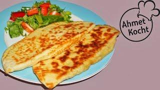 Gözleme Teigtaschen mit Pastirma und Käse | Ahmet Kocht | Video 300! | türkisch kochen | Folge 259