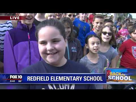 Back to school: Redfield Elementary School