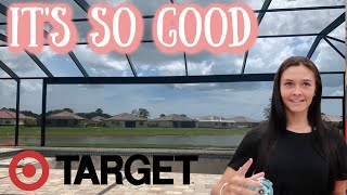 SWIMMING POOL LOOKS SO GOOD! TARGET SHOPPING VLOG! EMMA AND ELLIE