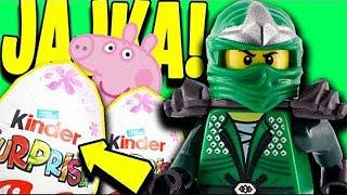 Lego ninjago po polsku  POWROT LLOYDA! Jajka niespodzianki Playmobil Peppa Bajki dla dzieci