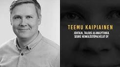 Chief of Finance 2019 / Teemu Kaipiainen / Seure Henkilöstöpalvelut Oy