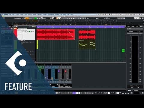 Editing Enhancements in Cubase | New Features in Cubase 10.5