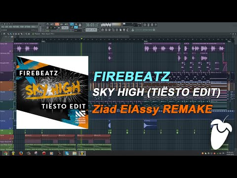 Firebeatz - Sky High (Tiësto Edit) (FL Studio Remake + FLP)