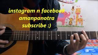 Sun Le Zara - Romantic Song - 1921 - Easy Hindi Guitar Lesson cover chords