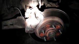 Проверка при смене резины  Заднее колесо