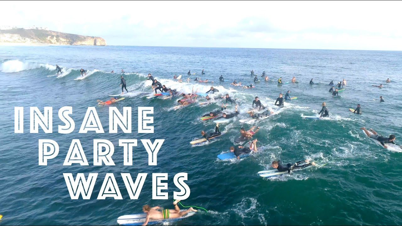 Insane Party Waves at Salt Creek! - The Surfers View