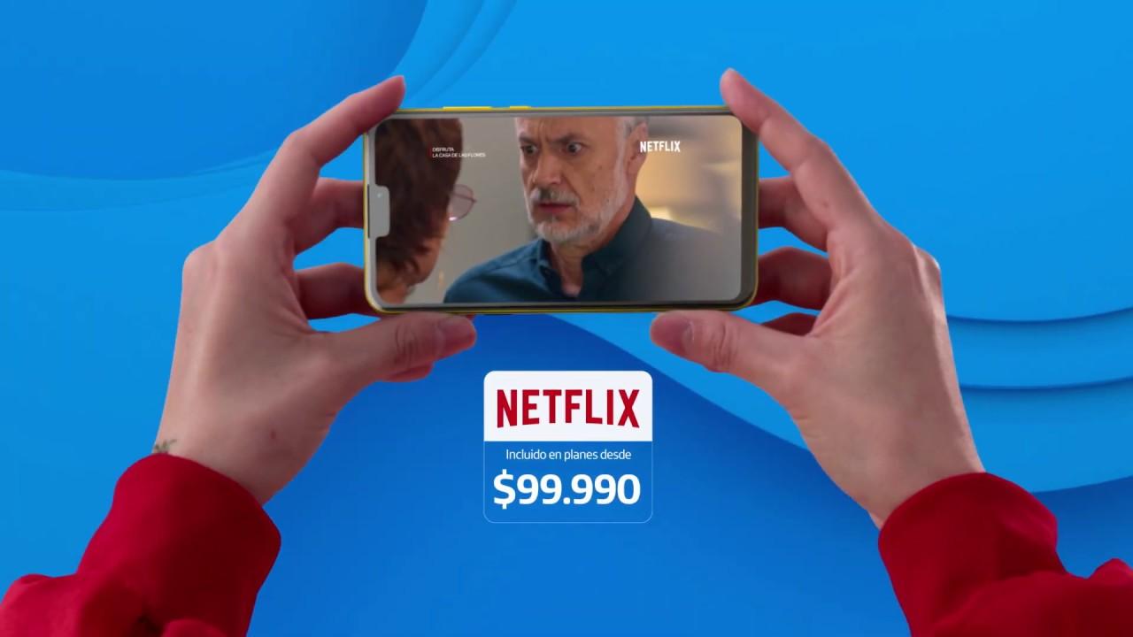 ¡Cámbiate a Pospago Movistar con ilimiDatos y Netflix incluido!