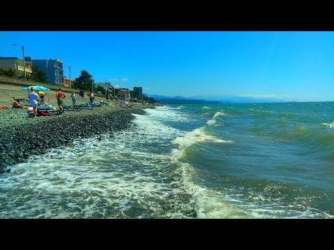 Грузия 2019. Отдыхаем первый раз на пляже в Кобулети