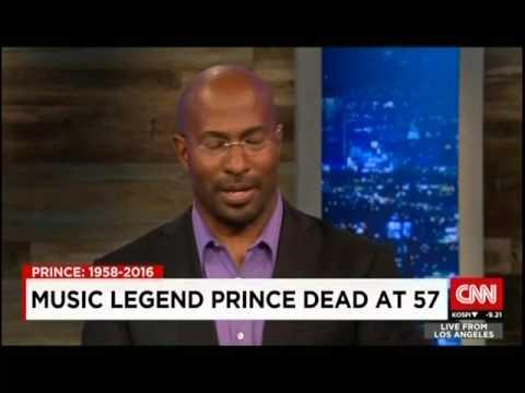 Van talks friendship & work w/ Prince on CNN International