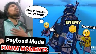 Enemy kidnapped me & my teammate 😩 | PUBG mobile Payload mode funny moments