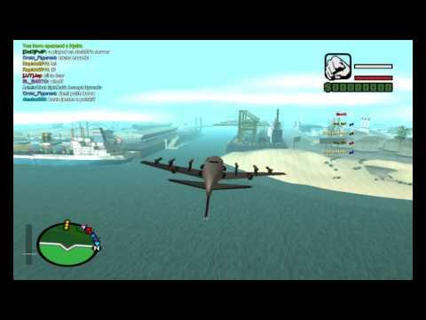 GTA SA-MP Hydra Stunting Video by Nka18