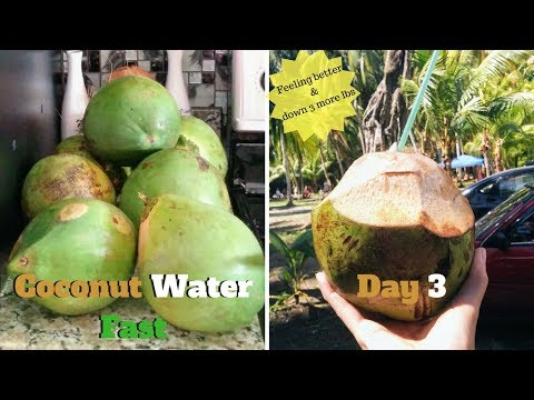 My 5 Day Coconut Water Fast for Improved Health - The Veggie Gal