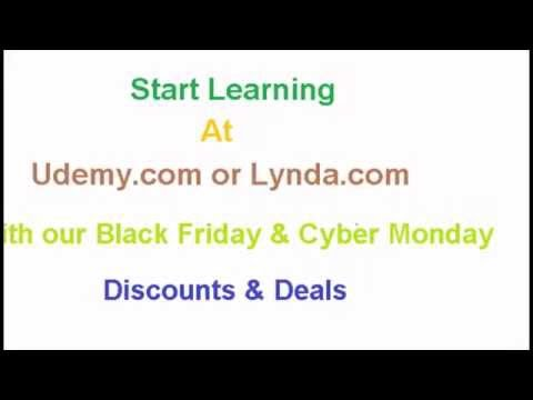 Off Udemy Black Friday Cyber Monday Discount Deals