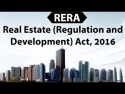 Real Estate Regulation & Development Act 2016 - Analyzing RERA, its impact & challenges on industry