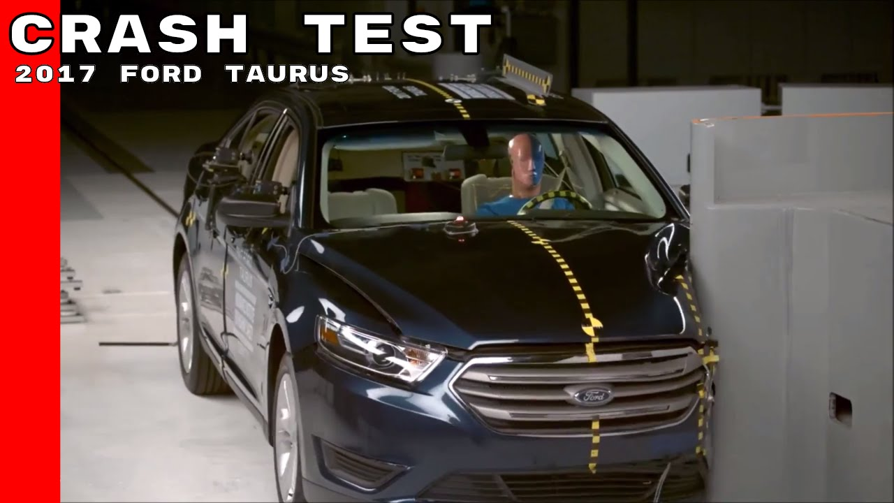 2017 ford taurus crash test youtube. Black Bedroom Furniture Sets. Home Design Ideas