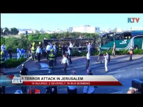 Bus Bombed in Jerusalem