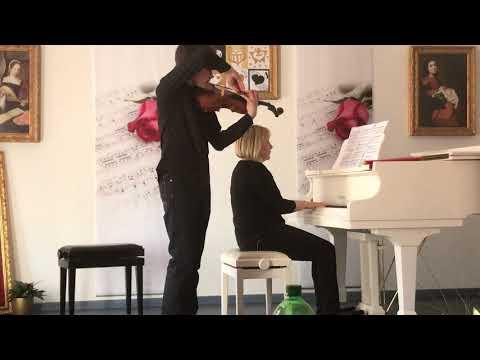 IVAN KERBIRIOU ,violin - Wieniawski Variations on an Original Theme op.15 Elena Filonova, piano