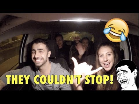 LAUGHTER IS CONTAGIOUS! (Funny Uber Rides)