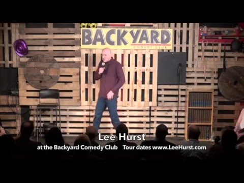 Lee Hurst Live At The Backyard Comedy Club