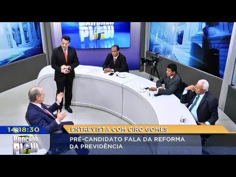 CIRO GOMES — TV Antena Piaui [10/10/17]