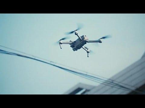 Koronavirüs salgını: Çin polisi halkı hastalığa karşı drone ile uyarıyor