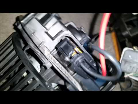 megane blower module with climate control youtube. Black Bedroom Furniture Sets. Home Design Ideas