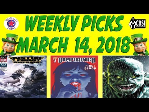Weekly Picks for New Comic Books Releasing March 14, 2018