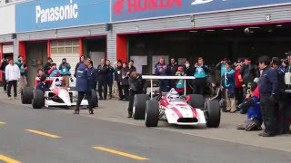 Honda Racing THANKS DAY 2015 F・アロンソ/佐藤琢磨によるF1デモ走行.