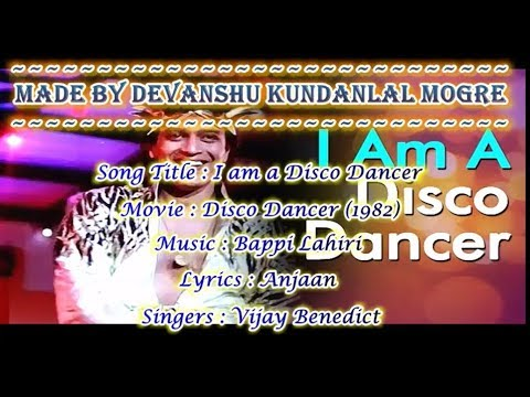 I am a Disco Dancer - Vijay Benedict - Disco Dancer (1982) - Origional Karaoke With Scrolling Lyrics