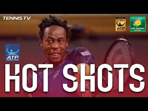 Hot Shot: Monfils Threads Lob At Indian Wells 2017