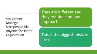 Webinar Why Your Sales Team Is Underperforming