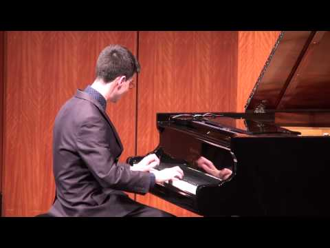 """Matt Savage's Master's Recital- """"Ask Me Now"""" by Thelonious Monk"""