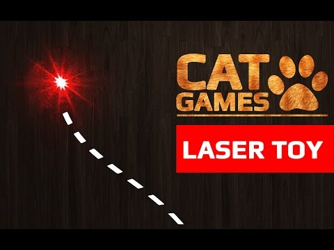 CAT GAMES - LASER TOY (ENTERTAINMENT VIDEOS FOR CATS TO WATCH)