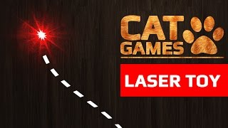 CAT GAMES LASER TOY ENTERTAINMENT VIDEOS FOR CATS TO WATCH