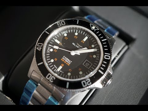 Glycine Combat Sub GL0087 | Unboxing | One Of The Best Swiss Automatic Dive Watches Under $700 |