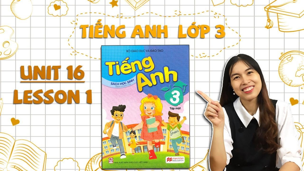Học tiếng Anh lớp 3 – Unit 16. Do you have any pets? – Lesson 1 – THAKI