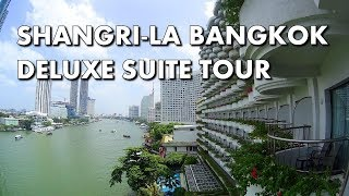 LUXURY IN BANGKOK - Shangri-La hotel Deluxe Suite Tour