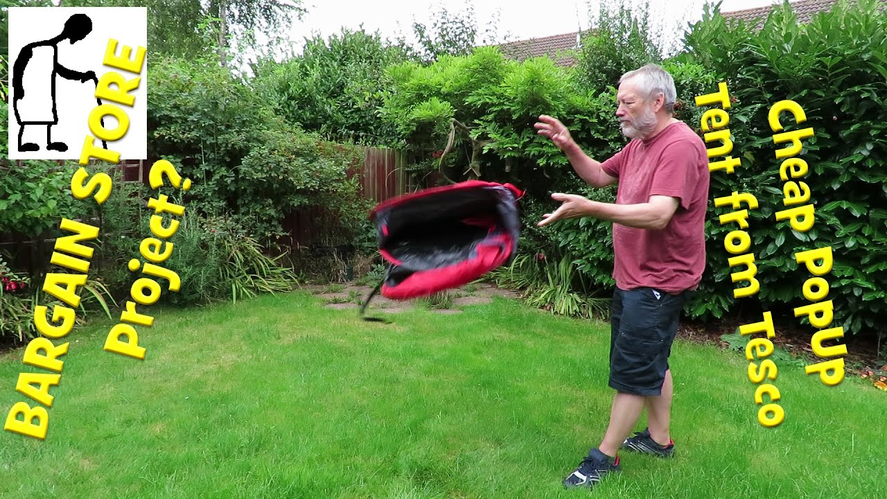 half off 1f7f2 0c633 Bargain Store Projects? Cheap Pop-Up Tent from Tesco
