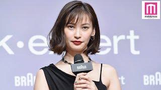 【モデルプレス】モデルで女優の大政絢が22日、都内で行われたイベント...