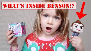What's inside BENSON the Dummy from Toy Story 4? Cutting open BENSON!?