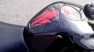 Honda CBR 600 RR with Dominator exhaust