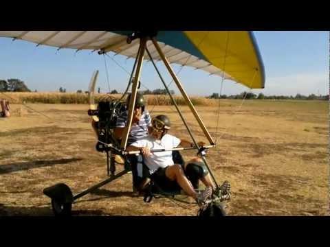 Primo Volo In Deltaplano A Motore Di Marco