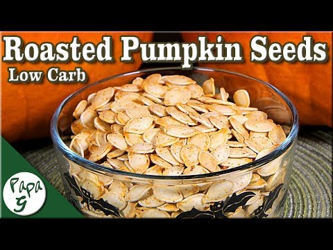 Come arrostire i semi di zucca - Carboidrati bassi