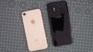 Vergleich: Apple iPhone 8 oder Samsung Galaxy S8? | deutsch