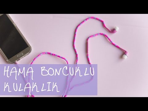 Hama Boncuklu Kulaklık | KENDİN YAP | DIY | Hama Beads Headphone