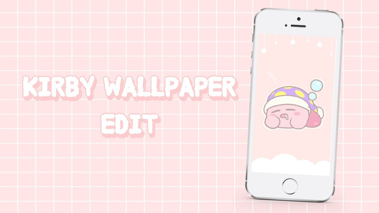 Kirby Wallpaper Edit Tutorial