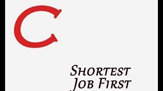 Shortest Job First Program