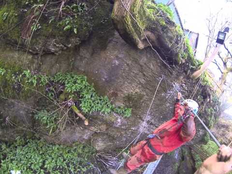 New Ultimate Via Ferrata Extention at How Stean Gorge